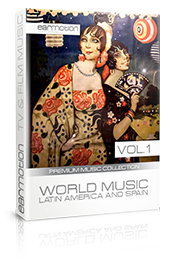 WORLD MUSIC LATIN AMERICA & SPAIN VOL.1